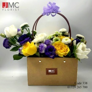 Mixed Rose Flower Bag- JMC Florist 338