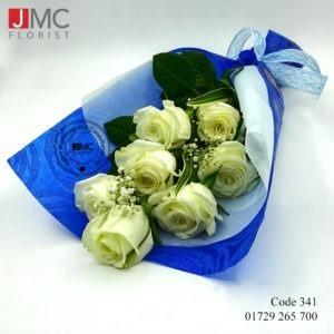 White Rose beauty bouquet - JMC Florist 341