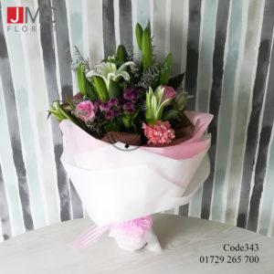 Mixed Flower Bouquet- JMC Florist 343